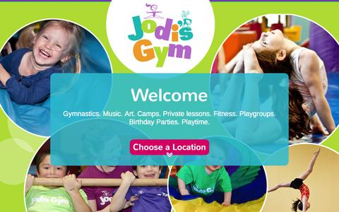 Screenshot of About Page jodisgym.com - Why Jodi's Gym?									| Jodis Gym - captured Sept. 30, 2014