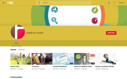 RedBrick Health - YouTube