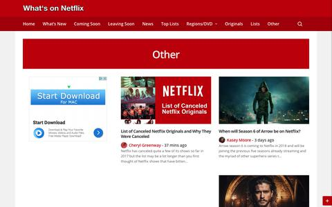 Other Features Relating to Netflix - Whats on Netflix