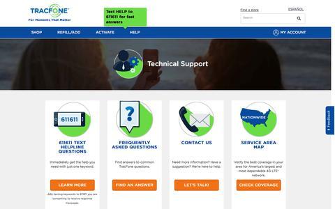 Customer Support | TracFoneWireles