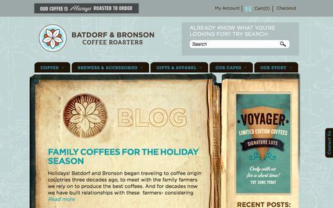 Screenshot of Press Page batdorfcoffee.com - Batdorf & Bronson Coffee Roasters  | Coffee Without Compromise - captured Nov. 22, 2016