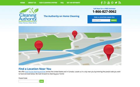 Screenshot of Testimonials Page thecleaningauthority.com - The Cleaning Authority Locations - Professional Green House Cleaning Services, Residential Environmentally Friendly Home Cleaning Company - captured Sept. 25, 2014