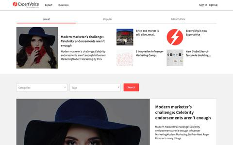 Blog - Influencer Marketing and Outreach | Experticity