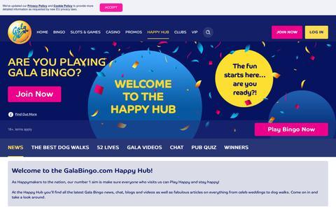 Screenshot of Press Page galabingo.com - Join Our Online Bingo Community - Gala Bingo - captured April 12, 2019