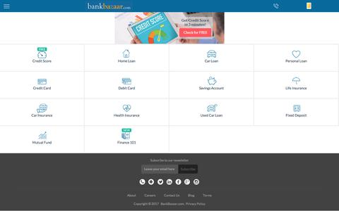 Compare and Apply for Loans, Credit Cards, Insurance in India