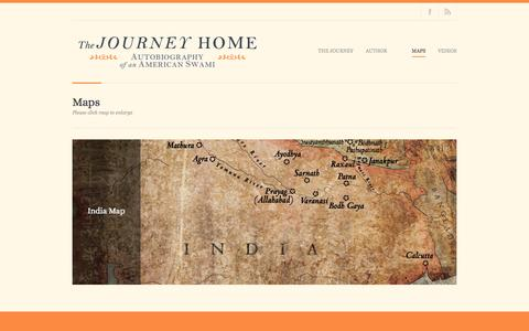 Screenshot of Maps & Directions Page thejourneyhomebook.net - The Journey Home |   Maps - captured May 14, 2016