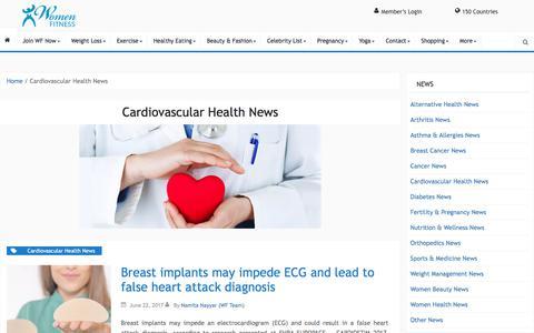 Cardiovascular Health News Archives - Women Fitness