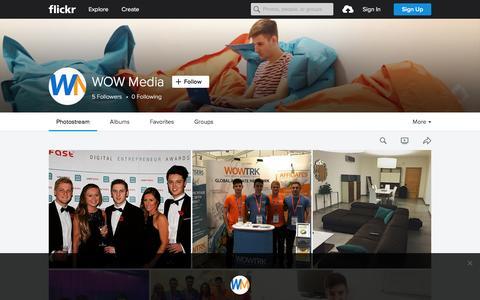 Screenshot of Flickr Page flickr.com - WOW Media   Flickr - Photo Sharing! - captured Nov. 23, 2015