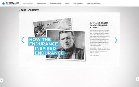 Endurance Company History | Endurance International Group