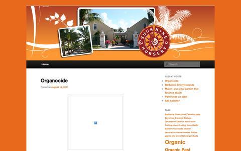 Screenshot of Blog sunshinenurserytci.com - Sunshine Nursery Blog | Just another WordPress site - captured Oct. 7, 2014
