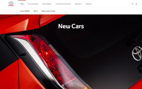 New Cars Toyota Europe