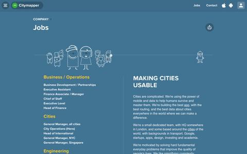 Citymapper Jobs