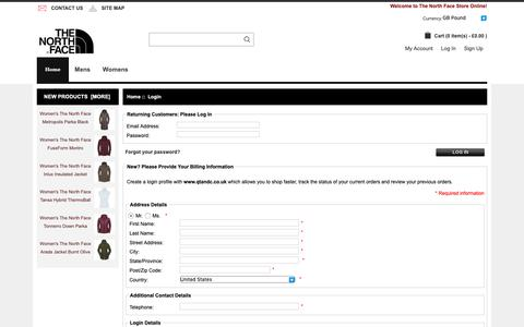 Screenshot of Login Page qtandc.co.uk - Login : www.touring-skegness.co.uk, The North Face | Shop For Men's And Women's Outdoor Apparel And Outdoor Shoes, Bags Online UK. - captured Nov. 9, 2018