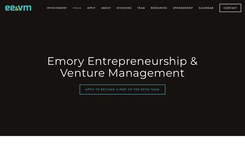 Screenshot of Home Page eevm.org - EEVM - captured Sept. 28, 2018