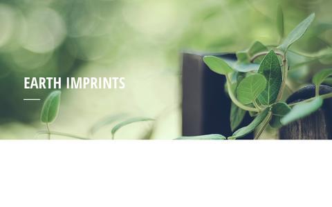 Screenshot of Home Page earthimprints.com.au - Earth Imprints - Earth Imprints - captured Jan. 24, 2016