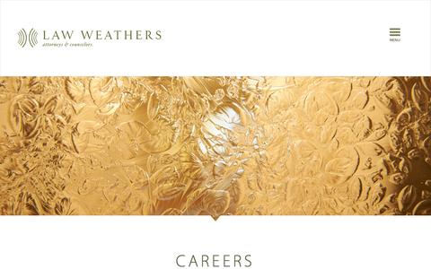 Screenshot of Jobs Page lawweathers.com - Careers | Law Weathers - captured Sept. 29, 2014