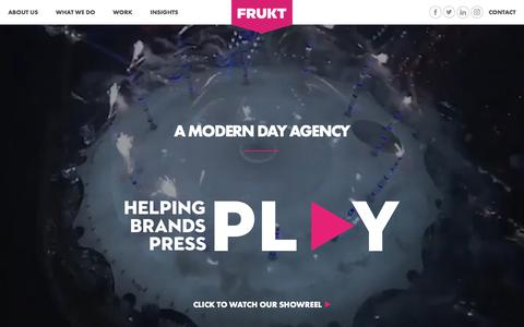 Frukt: Smart ideas in music and entertainment