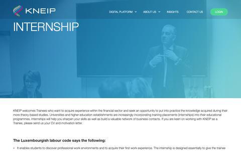 Screenshot of Jobs Page kneip.com - job - KNEIP - captured Feb. 1, 2019