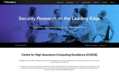 Centre for High Assurance Computing Excellence (CHACE) - United States