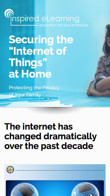 """Inspired eLearning - Securing the """"Internet of Things"""" at Home"""