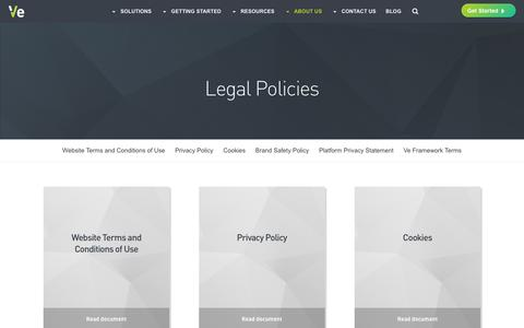 Legal Policies - Ve Interactive North America