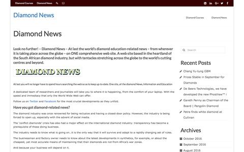 Diamond News - Diamond News