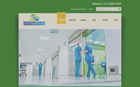 Screenshot of Home Page melhortintadobrasil.com - Home - Melhor Tinta do BrasilMelhor Tinta do Brasil - captured Oct. 6, 2014