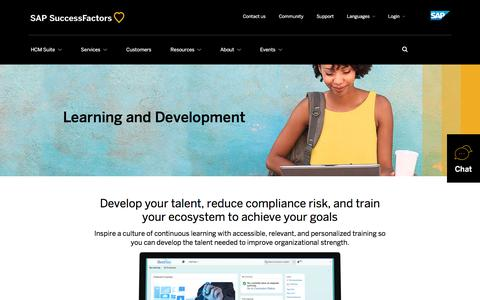 Learning and Development             | SuccessFactors