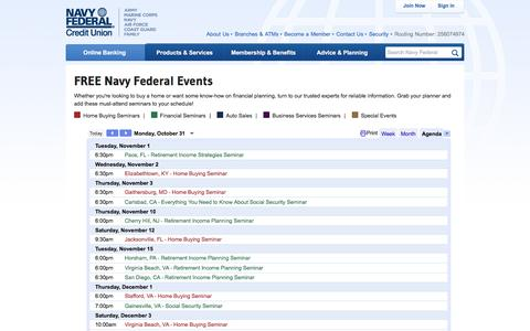 Events | Navy Federal Credit Union