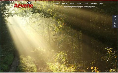 Screenshot of Home Page aeverie.com - Aeverie - Home - captured Sept. 30, 2014