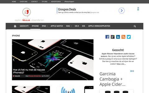 iPhone Archieven | Apple Nieuws Vlaanderen