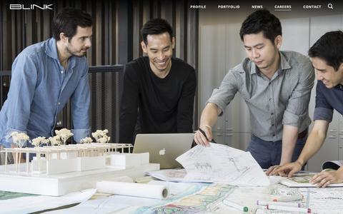 Screenshot of Jobs Page blinkdg.com - BLINK Design Group | Careers | Design of Luxury Hotels & Resorts - captured Oct. 4, 2018