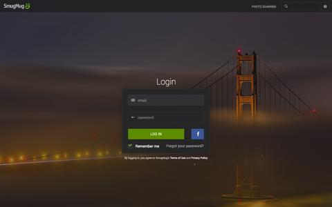 Screenshot of Login Page smugmug.com - Photo Sharing. Your Photos Look Better Here. - captured Oct. 10, 2014