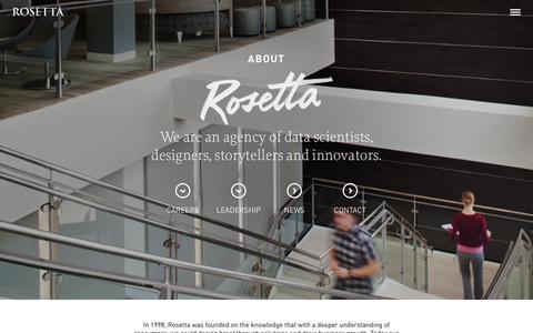 Screenshot of Locations Page rosetta.com - About | Rosetta - captured Oct. 26, 2014
