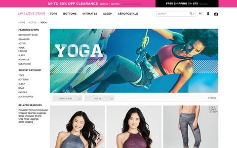 Yoga - Active - Aeropostale