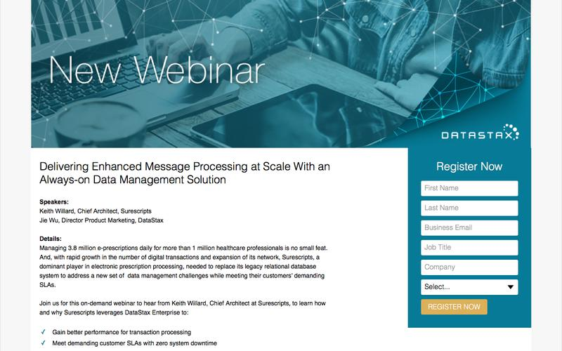 Delivering Enhanced Message Processing at Scale With an Always-on Data Management Solution