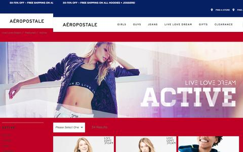 Workout Clothes for Teen Girls Women | Aeropostale