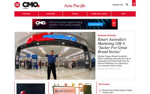Digital marketing strategies, news, and trends in Asia Pacific | CMO.com - Adobe