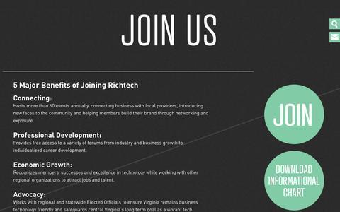 Screenshot of Signup Page richtech.com - Join Us « RichTech - captured Sept. 30, 2014