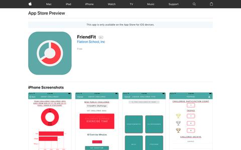 FriendFit on the AppStore