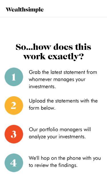 Portfolio Review | Wealthsimple