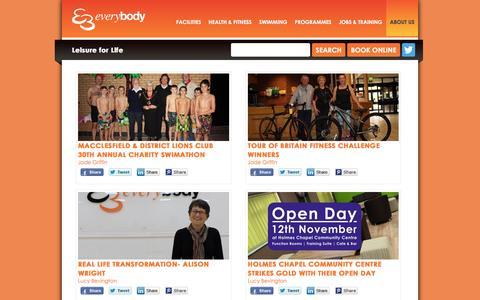 Screenshot of Press Page everybody.org.uk - Latest News - Everybody Sport & Recreation - captured Nov. 12, 2016