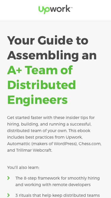 Hire Fast & Build Things