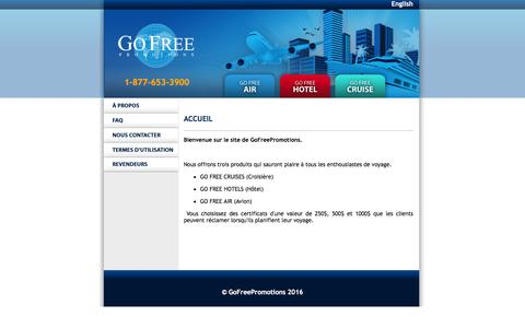Screenshot of Home Page Terms Page gofreepromotions.com - GoFreePromotions - Section Entreprise - captured March 8, 2016