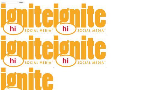 Ignite Social Media – The original social media agency | Home