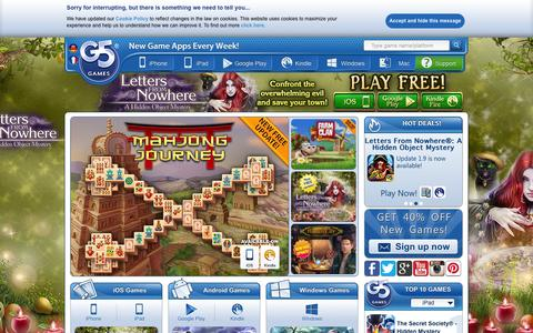 Screenshot of Team Page g5e.com - G5 Games - New Game Apps Every Week! - captured Oct. 5, 2015