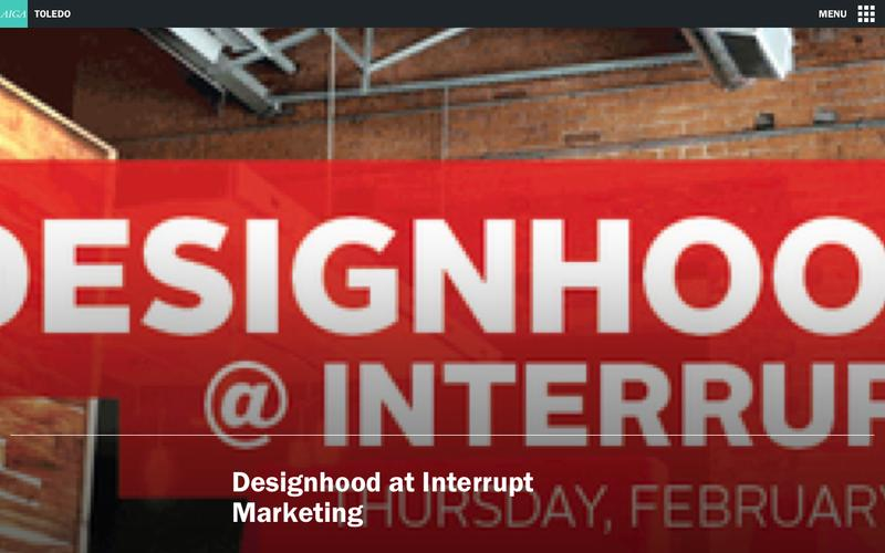 Designhood at Interrupt Marketing | AIGA Toledo