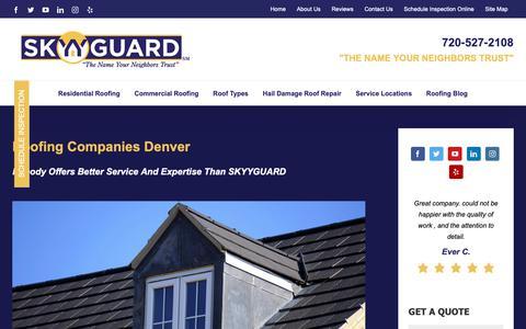 Screenshot of About Page skyyguard.com - About Us - SKYYGUARD - captured June 19, 2019