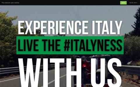Screenshot of Home Page italianstorytellers.com - Italian Storytellers - captured Nov. 10, 2015