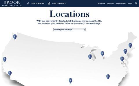 Screenshot of Locations Page bfr.com - enter - captured Jan. 23, 2019